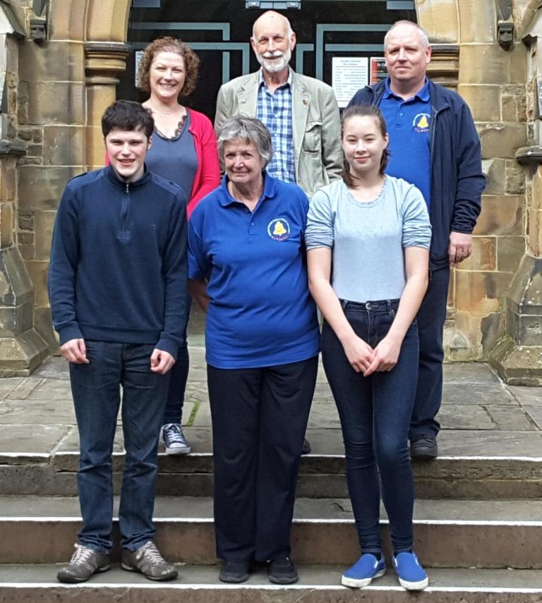 Nantwich band at 2017 Guild Striking Competition