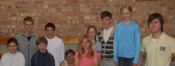 Young Ringers at the Cathedral 29th April 2007